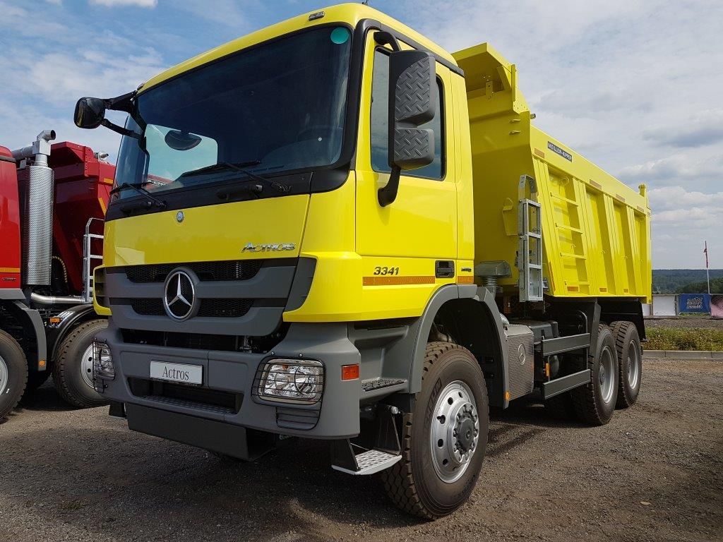 Самосвал Mercedes Benz Actros 3341 AK 6x6 Polar Star